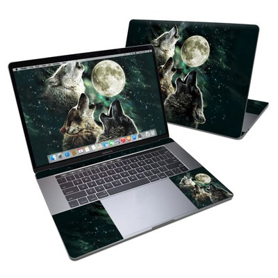 MacBook Pro 15in (2016) Skin - Three Wolf Moon