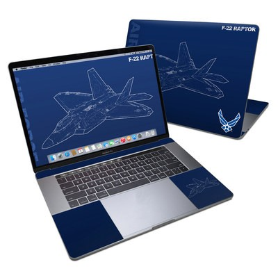 MacBook Pro 15in (2016) Skin - F-22 Raptor
