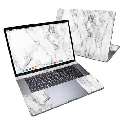 MacBook Pro 15in (2016) Skin - White Marble