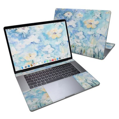 MacBook Pro 15in (2016) Skin - White & Blue