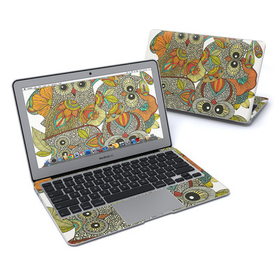 MacBook Air 11in Skin - 4 owls