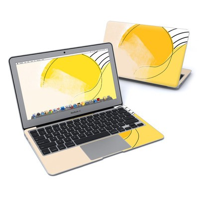 MacBook Air 11in Skin - Abstract Yellow