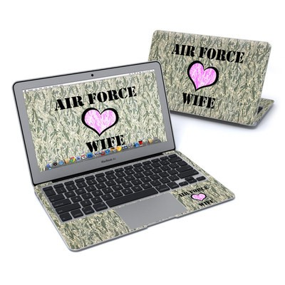 MacBook Air 11in Skin - Air Force Wife