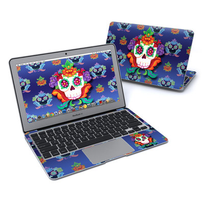 MacBook Air 11in Skin - Altar Skull