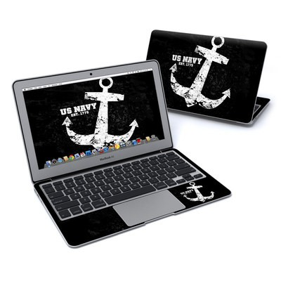 MacBook Air 11in Skin - Anchor