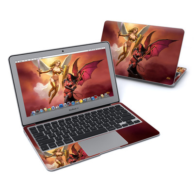 MacBook Air 11in Skin - Angel vs Demon