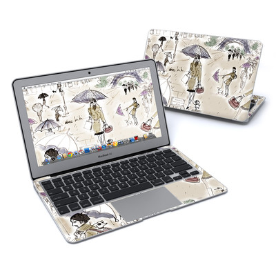 MacBook Air 11in Skin - Ah Paris