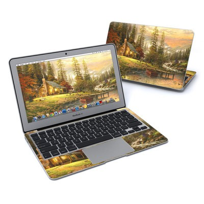 MacBook Air 11in Skin - A Peaceful Retreat