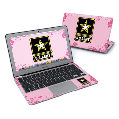 MacBook Air 11in Skin - Army Pink