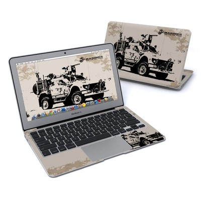 MacBook Air 11in Skin - Artillery