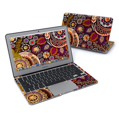 MacBook Air 11in Skin - Autumn Mehndi