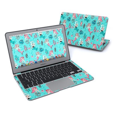 MacBook Air 11in Skin - Babydoll Mermaids