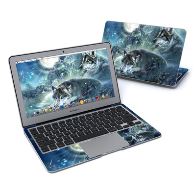MacBook Air 11in Skin - Bark At The Moon