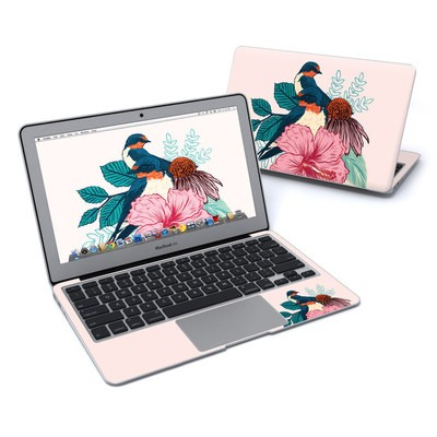 MacBook Air 11in Skin - Barn Swallows