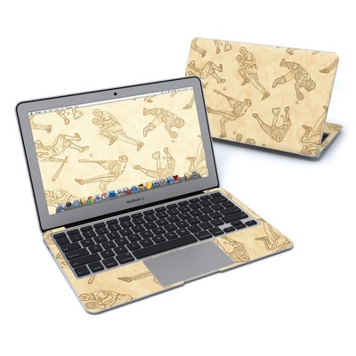 MacBook Air 11in Skin - Baseball Sketches