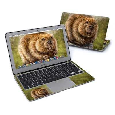 MacBook Air 11in Skin - Beaver Totem