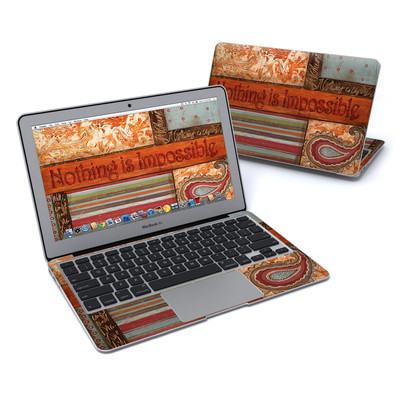 MacBook Air 11in Skin - Be Inspired