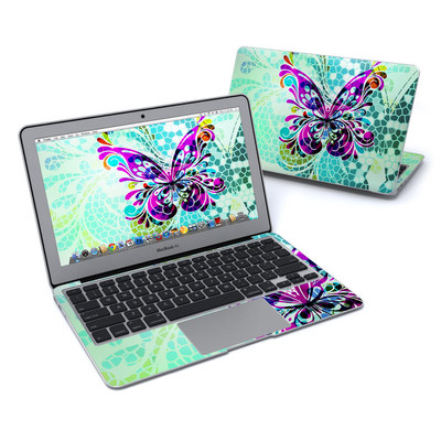 MacBook Air 11in Skin - Butterfly Glass