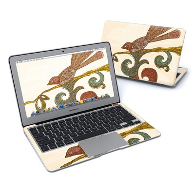 MacBook Air 11in Skin - Bird Happiness