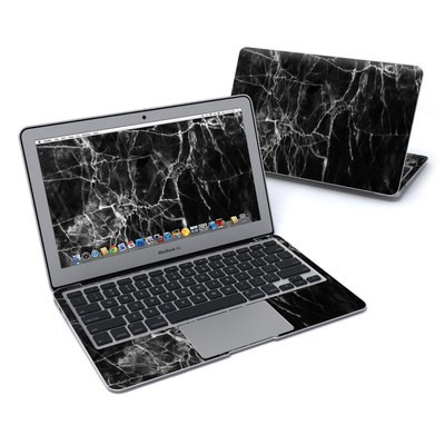 MacBook Air 11in Skin - Black Marble