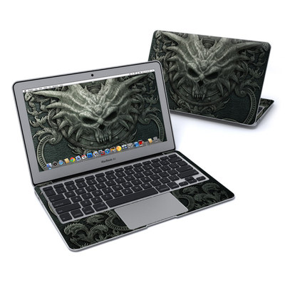 MacBook Air 11in Skin - Black Book