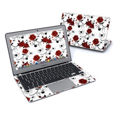 MacBook Air 11in Skin - Black Widows