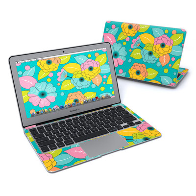 MacBook Air 11in Skin - Blossoms