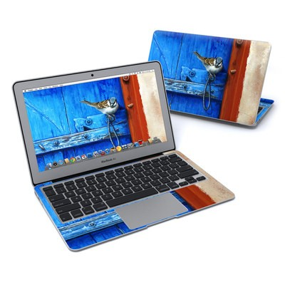 MacBook Air 11in Skin - Blue Door