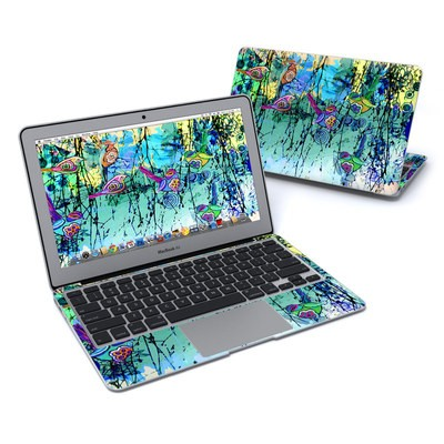 MacBook Air 11in Skin - Blue Evening