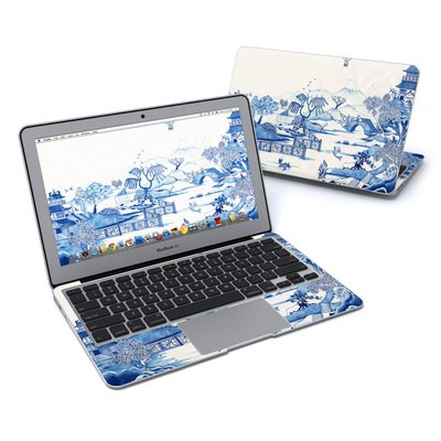MacBook Air 11in Skin - Blue Willow