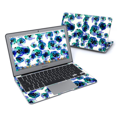MacBook Air 11in Skin - Blue Eye Flowers