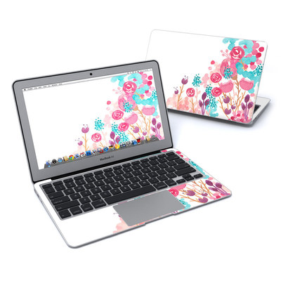 MacBook Air 11in Skin - Blush Blossoms