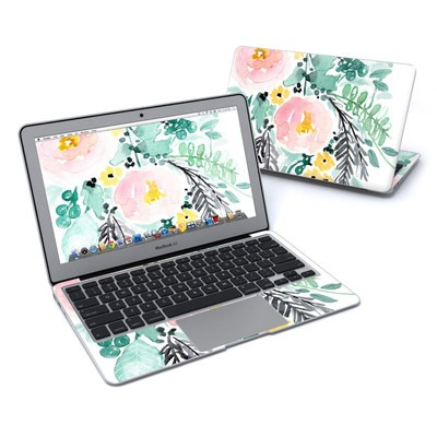 MacBook Air 11in Skin - Blushed Flowers