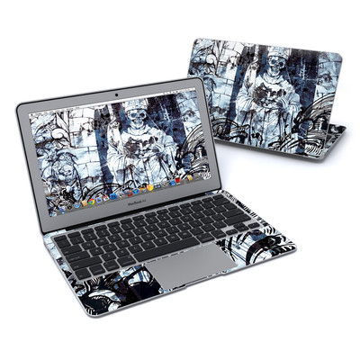 MacBook Air 11in Skin - Black Mass