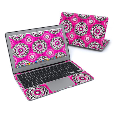 MacBook Air 11in Skin - Boho Girl Medallions