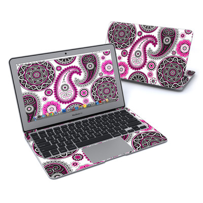 MacBook Air 11in Skin - Boho Girl Paisley