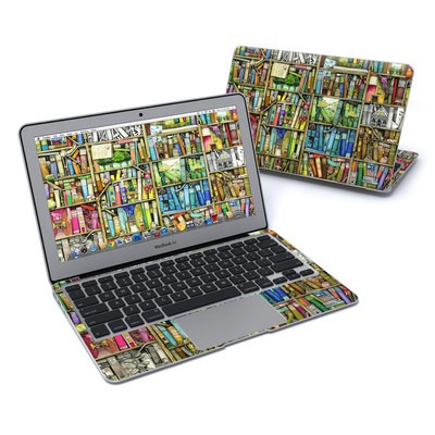 MacBook Air 11in Skin - Bookshelf