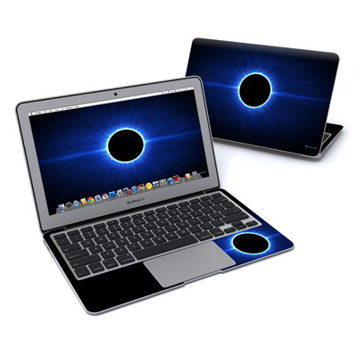 MacBook Air 11in Skin - Blue Star Eclipse