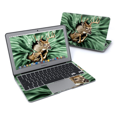 MacBook Air 11in Skin - Break Through Deer