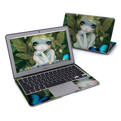 MacBook Air 11in Skin - Butterfly Lily