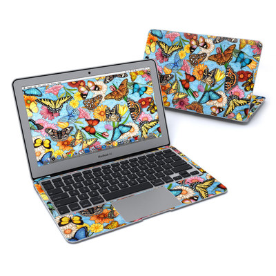 MacBook Air 11in Skin - Butterfly Land