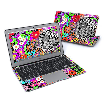 MacBook Air 11in Skin - A Burst of Color