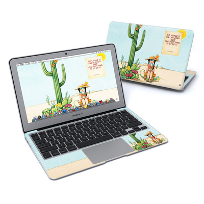MacBook Air 11in Skin - Cactus