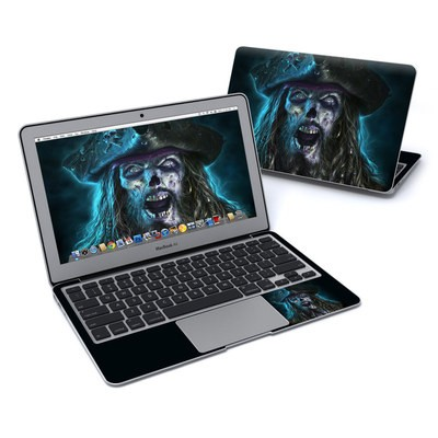 MacBook Air 11in Skin - Captain Grimbeard