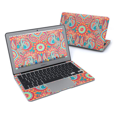 MacBook Air 11in Skin - Carnival Paisley
