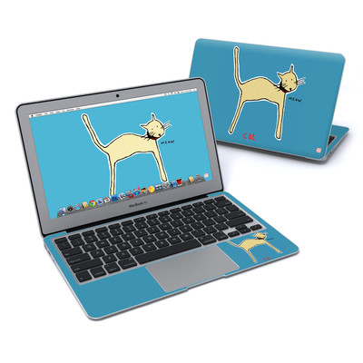 MacBook Air 11in Skin - Cat