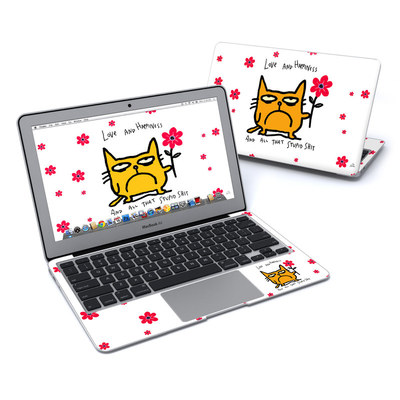 MacBook Air 11in Skin - Catwad Happy