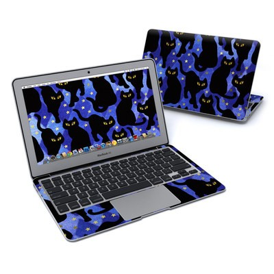 MacBook Air 11in Skin - Cat Silhouettes