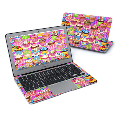 MacBook Air 11in Skin - Cupcake