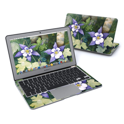 MacBook Air 11in Skin - Colorado Columbines